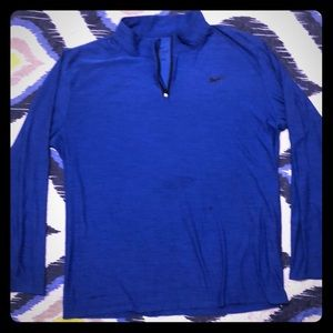 Blue Nike Performance Pullover